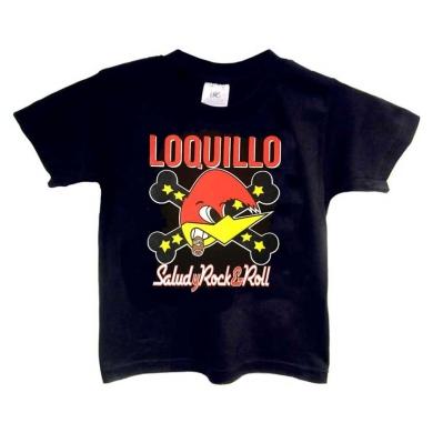 Camiseta Loquillo niño Salud y Rock & Roll