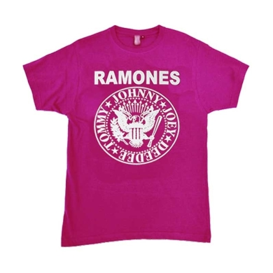 Camiseta Ramones Fucsia