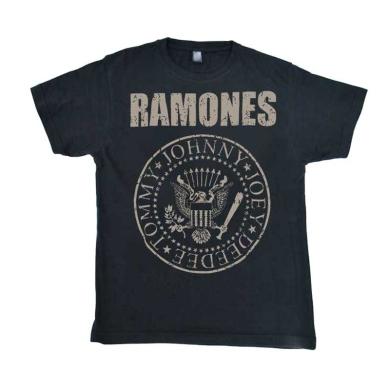 Camiseta Ramones Envejecida