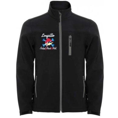 Chaqueta Loquillo Soft Shell Salud y Rock and Roll