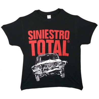 Camiseta Siniestro Total Coche