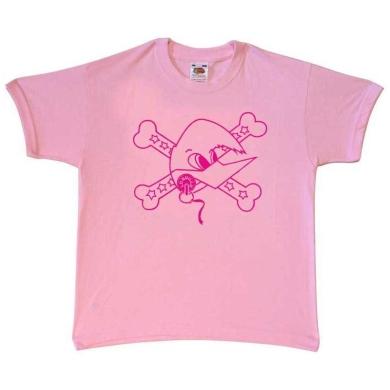 Camiseta Loquillo niño Rosa