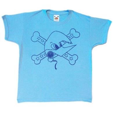Camiseta Loquillo niño Celeste