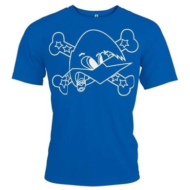 Camiseta Técnica Azul Loquillo Salud y Rock & Roll