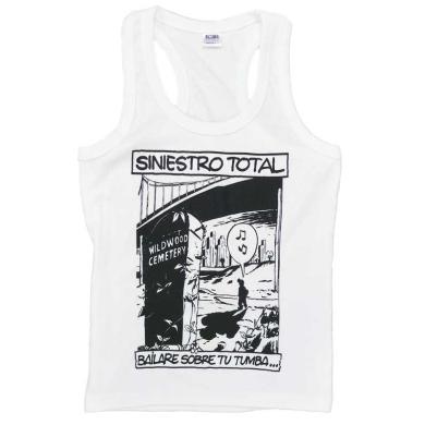 Camiseta Tirantes Siniestro Total Bailare sobre tu tumba