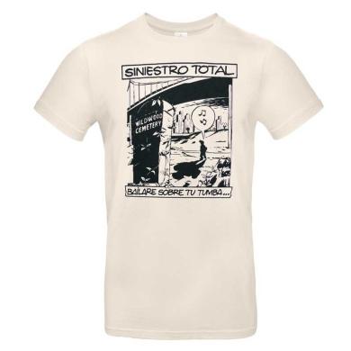 Camiseta Natural Siniestro Total Bailare...