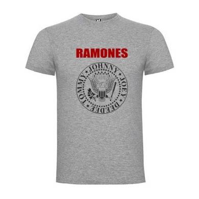 Camiseta Ramones Gris