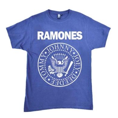 Camiseta Ramones Azul